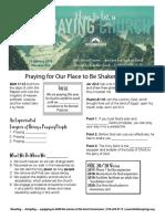 Prayer 1 Acts 4-23-33 Handout 011517