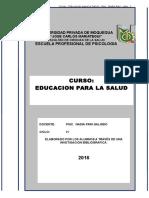 Compendio Monografico Ed Para La SAlud