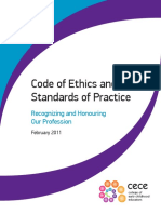 code of ethics and standards of practice 2013