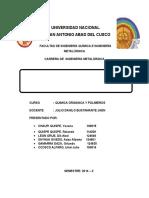 Características y Propiedades Fundamentales de Los Polímeros
