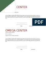 SANDRA OMEGA CEMTER.docx
