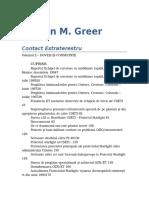 Steven Macon Greer - Extraterrestrial Contact 0.3 07 %