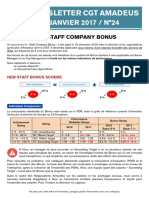 Newsletter 24 - Staff Company Bonus