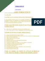 Involuntary Insolvency