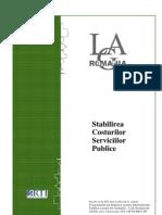 08 Stabilirea Costurilor Serviciilor Publice