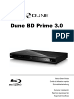 Dune BD Prime 30 Quick Start Guide