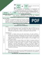 Plan 2do Grado - Bloque 3 Educación Artística (2016-2017)
