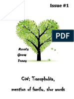Roots Grow Trees Issue 1 - Trans Rights Are Human Rights