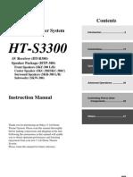 Ht-s3300 Manual e