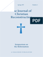 JCR Vol. 14 No. 2 Symposiym on the Reformation