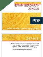 Dengue Hemorragic Fever/ Demam Berdarah Dengue