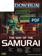 The Way of the Samurai, Shadowrun Book