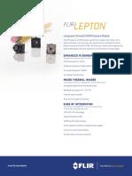 FLIR Lepton Datasheet