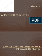 Aci SECCION 21 Zapatas Diseño