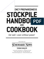 Emergency Stockpile Cookbook and Handbook