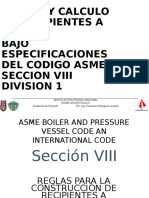 Asme Seccion Viii. Recipientes Sujetos a Presion