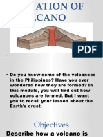 1 Formation of a Volcano