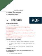 BTEC Uniformed Public Services - Lesson 3 - Lesson Plan - Guidance Sheets