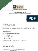 Sesion 12A_Centrales Eléctricas Problemas Centrales Termicas