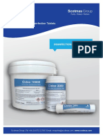 Cidox Chlorine Dioxide Disinfection Tablets Brochure