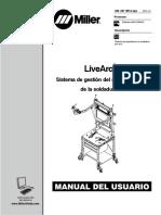 LiveArc Miller Manual de Usuario