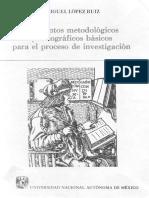 López Elementos Metodológicos y Ortográficos