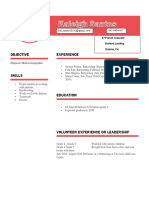 kaleighs resume  1   1