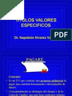 Titulos Valores Especificos-paga-fac Negociable