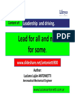 Lead for All and Not for Some - Luciano Lujan ANTONIETTI