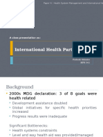 International Health Partnership- IHP+