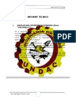 informe nivelacion zona pucayacu