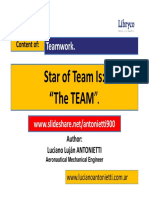 Star of the Team is the Team - Luciano Luajn ANTONIETTI.