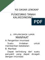 Imunisasi Dasar Lengkap