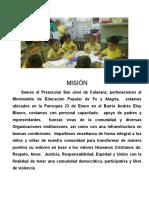 Reseña Histórica Del Preescolar San José de Calazans