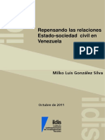 Repensando Las Relaciones Estado-Sociedad Civil