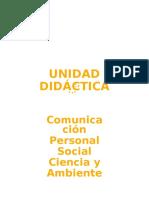 Unidad Didactica Integrada 3er Grado