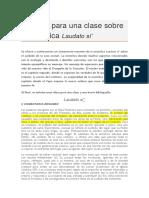 9fcaa809f6965 Apuntes Para Una Clase Sobre La Encíclica