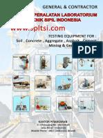 Katalog - Supplier Alat Laboratorium Teknik Sipil - Biand - 0813 2006 6151 - Cv Rundawa Teknik - www.spltsi.com