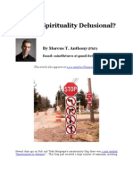 Is Your Spirituality Delusional?