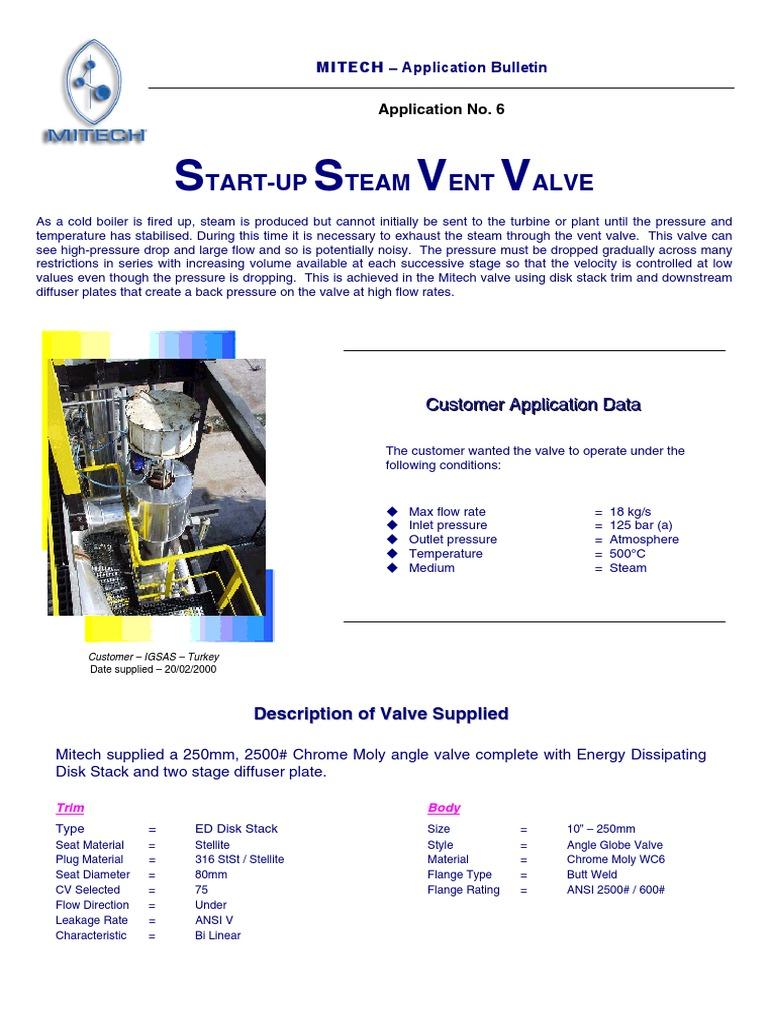 start up steam vent pdf