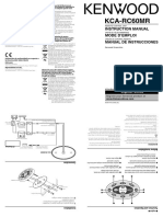 Keenwood KCA-RC60MR Manual