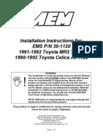AEM-InstallManual30-1120
