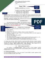 IJCTER Paper Format-2016
