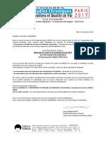 Courrier Pour Annonce Report CAZAUBON