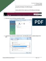 WPA2 Enterprise ConfigMSWindows7
