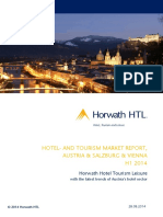 H1 2014 Hotel and Tourism Markt Report Vienna Salzburg Austria