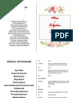 Wedding Misalette