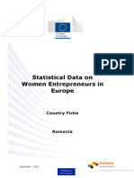 Romania Women Entrepreneurs in Europe
