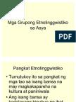 Mga Grupong Etnolinggwistiko Sa Asya