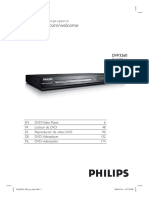 DVD Player Philips DVP3260 Dvp3260_12_dfu_eng